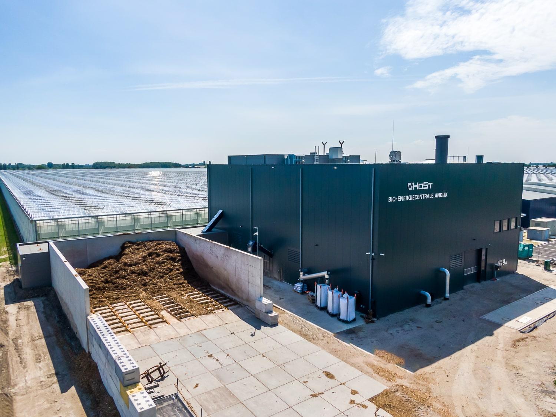 Host's bioenergy plant, utilising thermal energy conversion technology