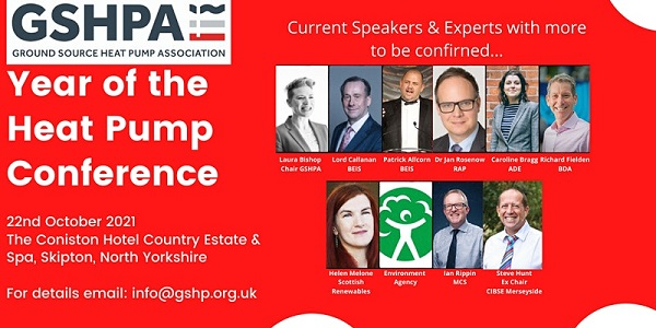 ground source heat pump conference from GSHPA