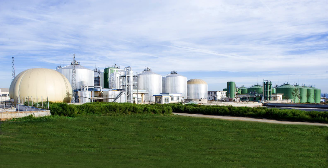 The Minhe Biogas plant using chicken manure as a feedstock